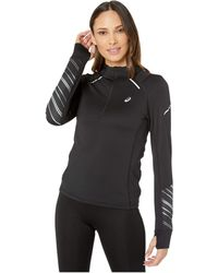 Asics Lite-showtm 2 Winter Long Sleeve 1/2 Zip Top - Black