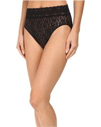 Wacoal - Halo Lace Hi-cut Brief (majolica Blue) Women's Underwear - Lyst