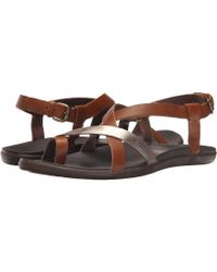 Olukai - Upena (black/black) Women's Sandals - Lyst