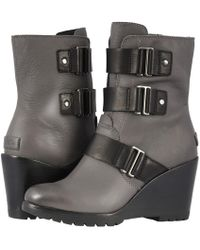 Sorel - After Hours Bootie (nori) Women's Waterproof Boots - Lyst