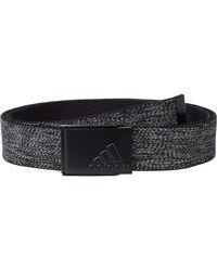 adidas Originals Heather Stretch Reversible Belt - Black