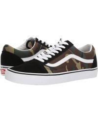 921b5fba35 Lyst - Vans Old Skool V Pro (black white) Men s Skate Shoes in Black ...