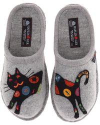 Haflinger - Sassy (stone) Women's Slippers - Lyst
