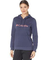 Columbia Logo Hoodie - Blue
