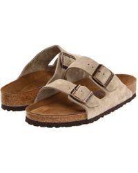Birkenstock Arizona Soft Footbed - Leather (unisex) - Brown