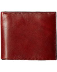Bosca | Old Leather Collection - Credit Wallet W/ I.d. Passcase | Lyst