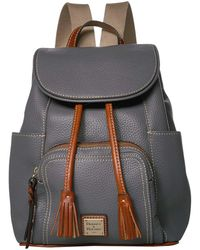 Dooney & Bourke Pebble Medium Murphy Backpack - Gray