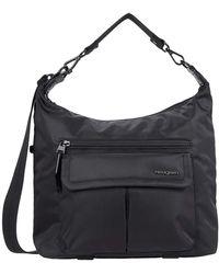 Hedgren Luna Convertible Eco-friendly Hobo/shoulder - Black