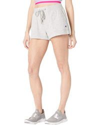 Champion Campus French Terry Graphic Shorts - Gray