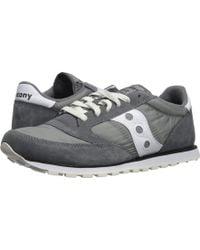 Saucony - Jazz Low Pro (grey/white) Men's Classic Shoes - Lyst