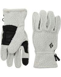 Black Diamond - Yetiweight Fleece Gloves (aluminum) Outdoor Sports Equipment - Lyst