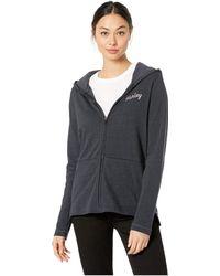 Hurley - Day And Night Fleece Zip-up (black) Women's Clothing - Lyst