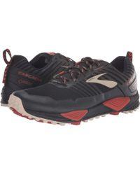 d84c63bab9c Brooks - Cascadia 13 Gtx (black red tan) Men s Running Shoes -