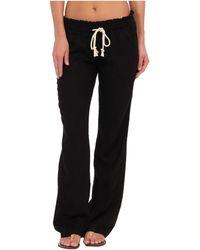 Roxy Ocean Side Pant - Black