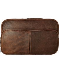 Scully Squadron Hanging Travel Tote - Brown