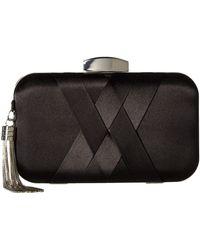 Jessica Mcclintock Molly Minaudiere Clutch Handbags - Black