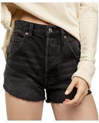 Free People Taliesin Cutoff Shorts Clothing - Black