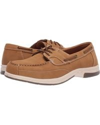 Deer Stags Mitch Boat Shoe - Brown