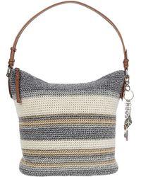 The Sak Unisex Adult Sequoia Crochet Hobo Handbag - Natural