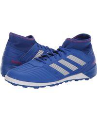 adidas Predator 19.3 Tf (bold Blue/silver Metallic/active Red) Men's Soccer Shoes