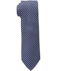 Lauren by Ralph Lauren - Small Gingham Check Tie (blue/navy) Ties - Lyst