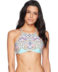 Kenneth Cole - Rosey Tile High Neck Bra - Lyst