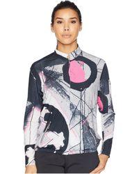 Jamie Sadock Sunsense® Lightweight Eclipse Print Jacket With 50 Spf - Blue