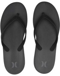 db23d7625 Hurley - One And Only Sandal (black) Men's Sandals - Lyst