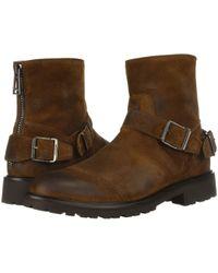 Belstaff - Trialmaster Burnished Suede Boot (bracken) Men's Boots - Lyst