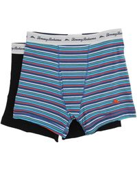 Tommy Bahama - Stripe Stretch Cotton Comfort Boxer Briefs 2-pack - Lyst
