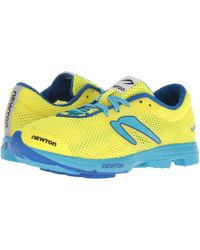 Newton Running - Distance Elite (neon Yellow/blue) Women's Running Shoes - Lyst