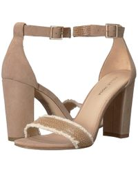 Pelle Moda - Bonnie 6 (indigo Linen) High Heels - Lyst