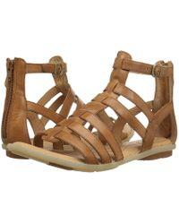 554ae12a8ee7 Born - Tripoli (light Brown Full Grain) Women s Sandals - Lyst