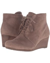 Dr. Scholls - Dakota (stucco Microsuede) Women's Shoes - Lyst