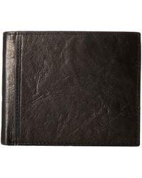Fossil - Ingram Rfid Large Coin Pocket Bifold - Lyst