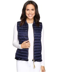 Lilly Pulitzer - Cora Vest (true Navy) Women's Vest - Lyst