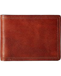 Bosca - Dolce Collection - 8-pocket Deluxe Executive Wallet (amber) Wallet Handbags - Lyst