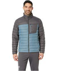Mountain Hardwear - Dynothermtm Down Jacket (machine Blue) Men's Coat - Lyst