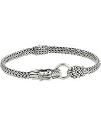 John Hardy - Legends Naga 5mm Station Bracelet - Lyst