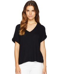 Kensie - Soft Stretch Jersey Tee Ks7k3739 (white) Women's Clothing - Lyst