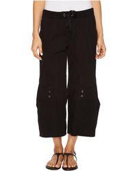 XCVI - Sunday Crop Pant (black) Women's Casual Pants - Lyst