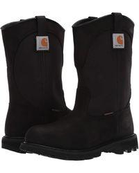 Carhartt 10 Waterproof Wellington Soft Toe - Black