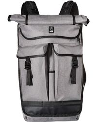 Chrome Industries Orlov 2.0 Backpack (gargoyle Grey) Backpack Bags - Gray