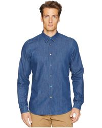 Paul Smith - Long Sleeve Chambray Shirt - Lyst