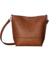 Calvin Klein - Novelty Crossbody (Luggage) Cross Body Handbags - Lyst