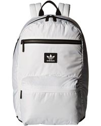 adidas Originals - Originals National Plus Backpack (white black) Backpack  Bags - Lyst f7ea052a8a090