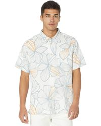 Quiksilver Liney Magnolia Woven Clothing - White