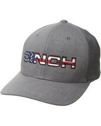 21db40f0399 Cinch - Mid-profile Flexfit Cap (blue) Caps - Lyst