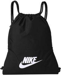 Nike Branded Backpack Black