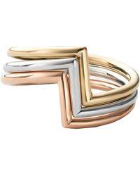 Miansai Arch Ring Set - Metallic